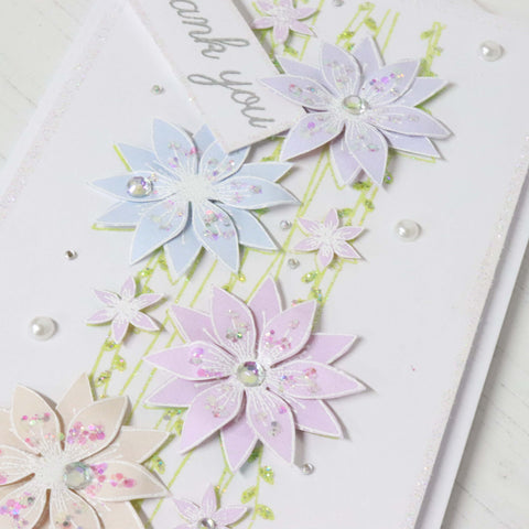 Stamps by Chloe Wild Flower Border Clear Stamp