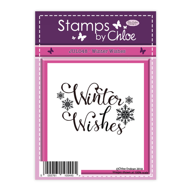 Stamps by Chloe Winter Wishes Clear Stamp