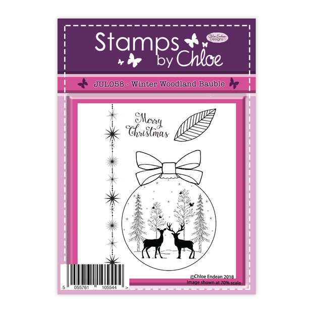 Stamps by Chloe Winter Woodland Bauble