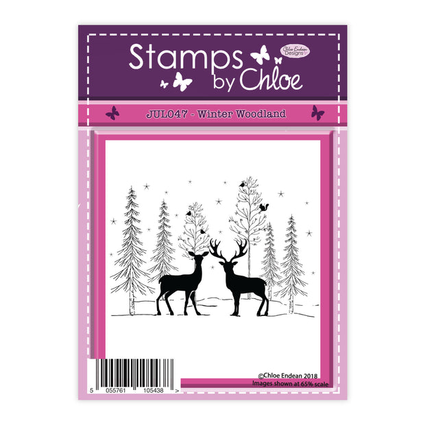 Stamps by Chloe Winter Woodland Clear Stamp