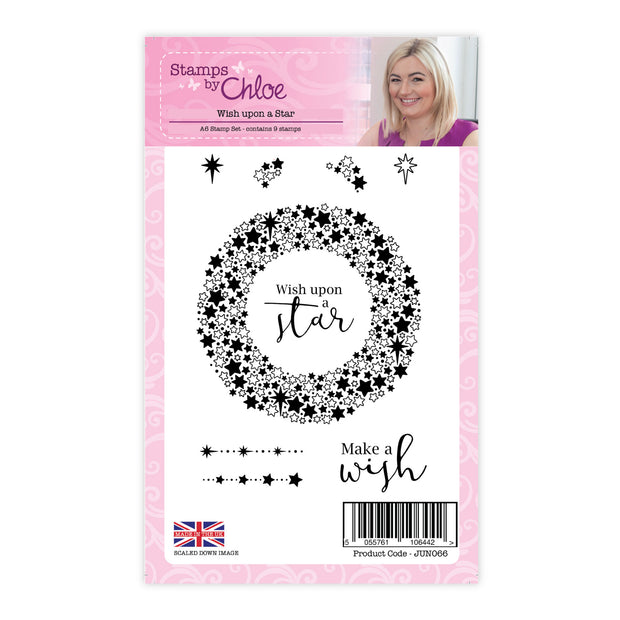 Stamps by Chloe Wish upon a Star Clear Stamp