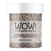 Stamps by Chloe WOW Embossing Glitter Arctic Rose Large Jar