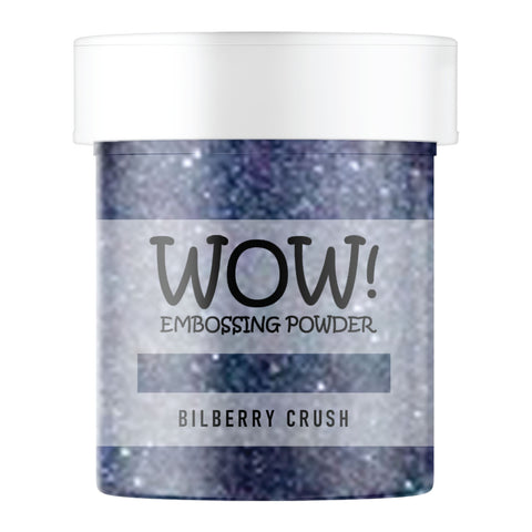 Stamps by Chloe WOW Embossing Glitter Bilberry Crush Large Jar