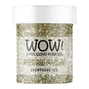 Stamps by Chloe WOW Embossing Glitter Champagne Ice