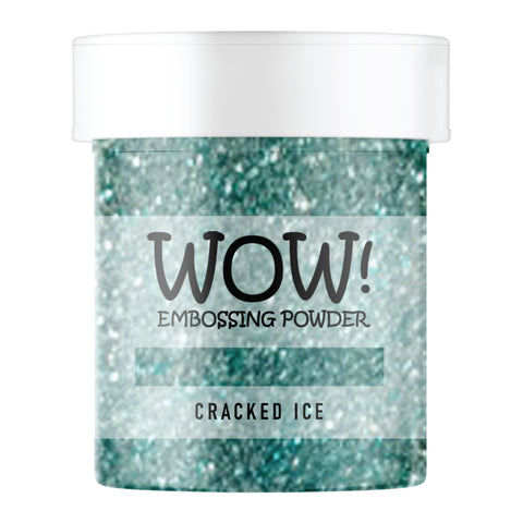 Stamps by Chloe WOW Embossing Glitter Cracked Ice Large Jar