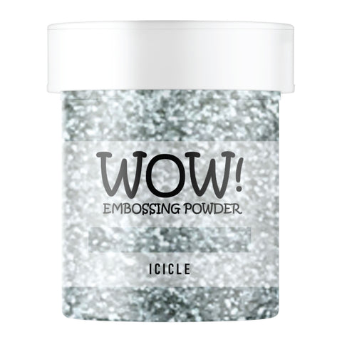 Stamps by Chloe WOW Embossing Glitter Icicle Large Jar