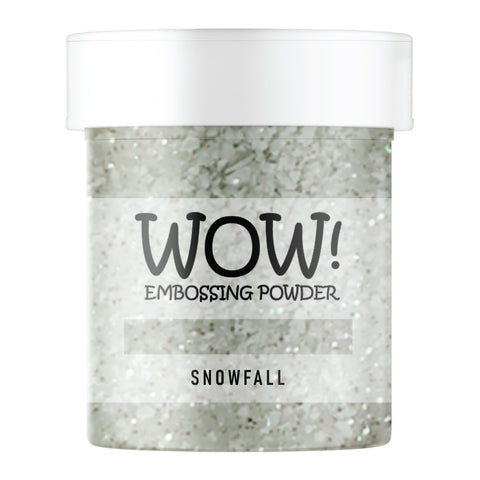 Stamps by Chloe WOW Embossing Glitter Snowfall Large Jar