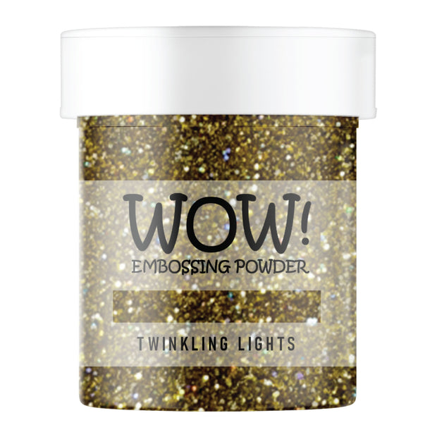 Stamps by Chloe WOW Embossing Glitter Twinkling Lights Large Jar