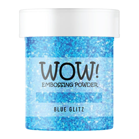 WOW Embossing Glitter Blue Glitz