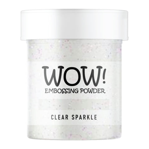 Stamps by Chloe WOW Embossing Glitter Clear Sparkle Large Jar