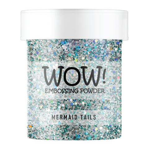 WOW Embossing Glitter Mermaid Tails