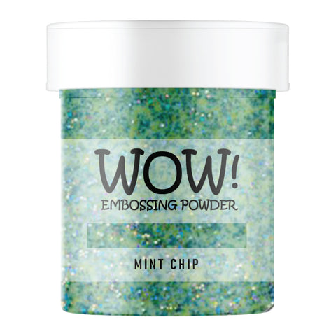 WOW Embossing Glitter Mint Chip