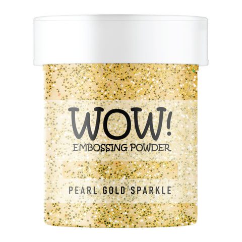 WOW Embossing Glitter Pearl Gold Sparkle