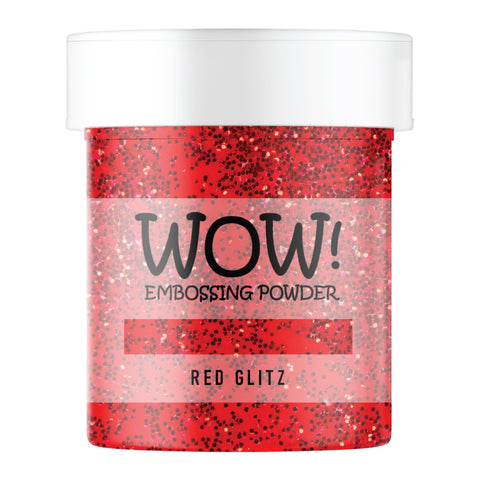 WOW Embossing Glitter Red Glitz