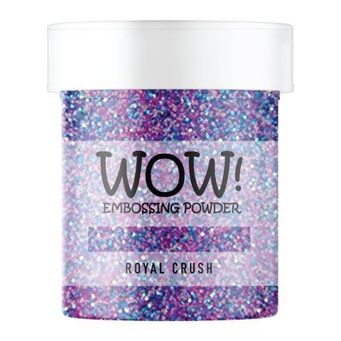 WOW Embossing Glitter Royal Crush