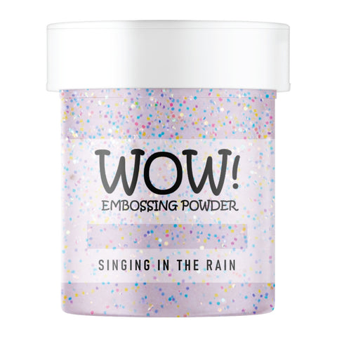 WOW Embossing Glitter Singing In The Rain
