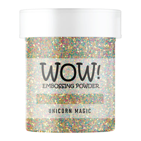 WOW Embossing Glitter Unicorn Magic