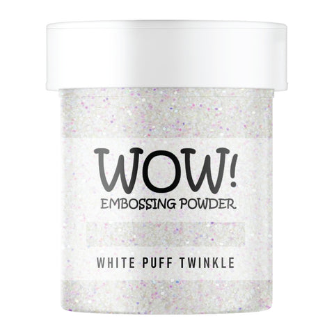 WOW Embossing Glitter White Puff Twinkle