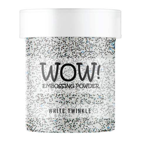 WOW Embossing Glitter White Twinkle