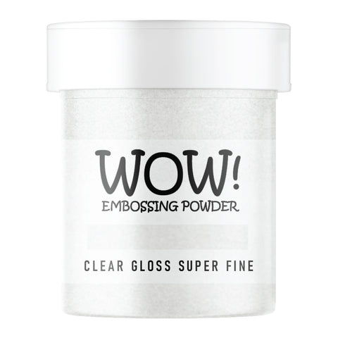 WOW Embossing Powder Clear Gloss Super Fine Large Jar