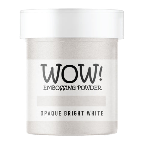 WOW Embossing Powder Opaque Bright White Superfine Large Jar