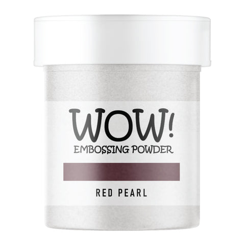 WOW Embossing Powder Red Pearl