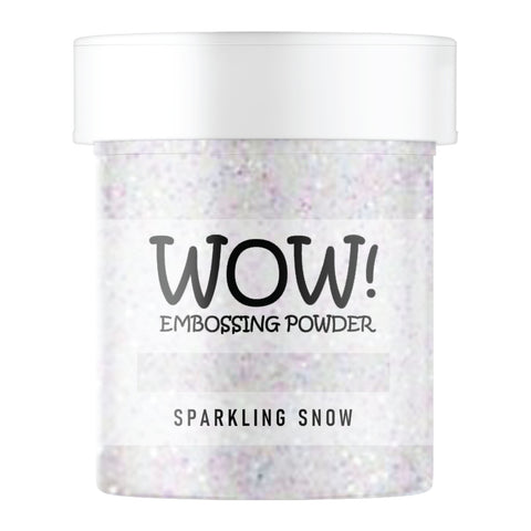 Stamps by Chloe WOW Embossing Glitter Sparkling Snow Large Jar