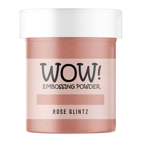 WOW Embossing Powder Rose Glintz