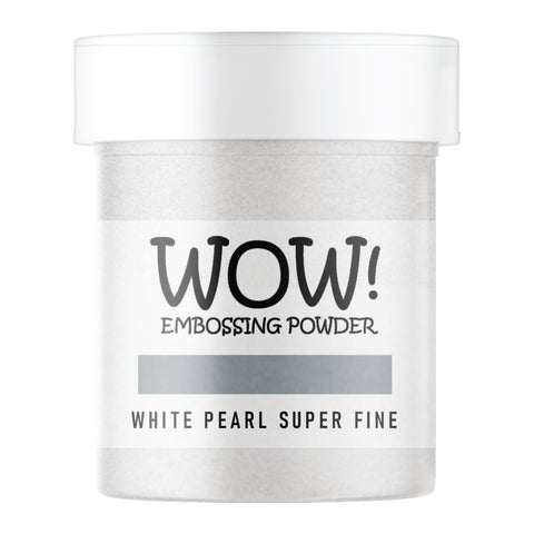 WOW Embossing Powder White Pearl Superfine