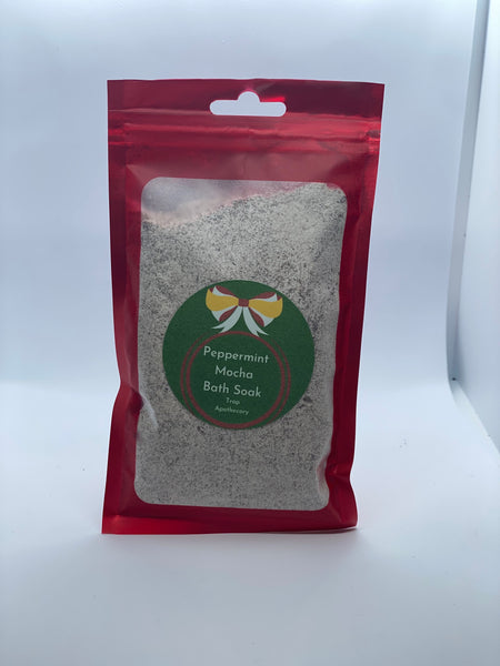 Foaming Peppermint Mocah Bath soak