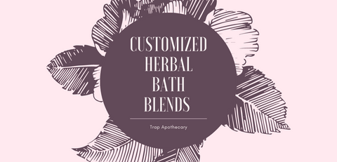 Customized Herbal Bath Blend