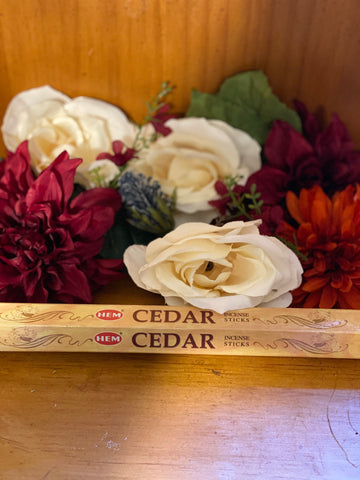 Hem Cedar Incense sticks