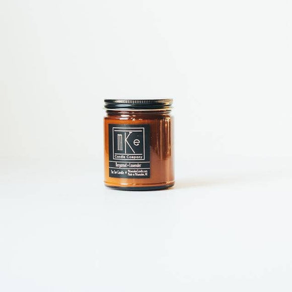 Milwaukee Candle Co. - Bergamot + Lavender Soy Candle