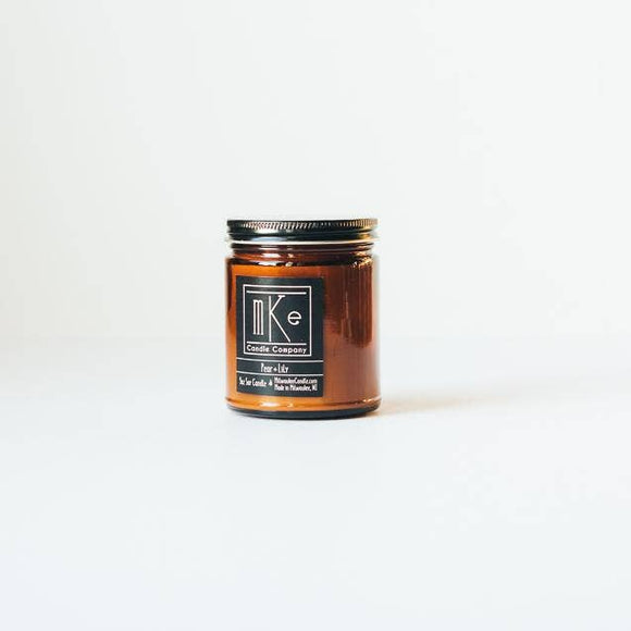 Milwaukee Candle Co. - Pear + Lily Soy Candle