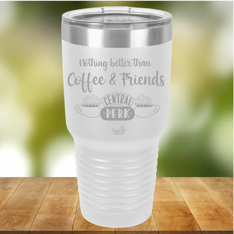 Coffee and Friends Tumbler