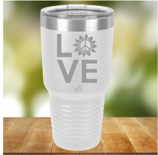 Love and Peace Tumbler