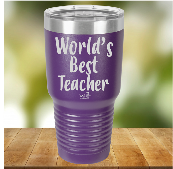 World's Best Teacher Tumbler
