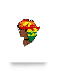 11x17 Poster - Africa hair