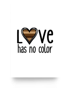 24x36 Poster - Love has no color