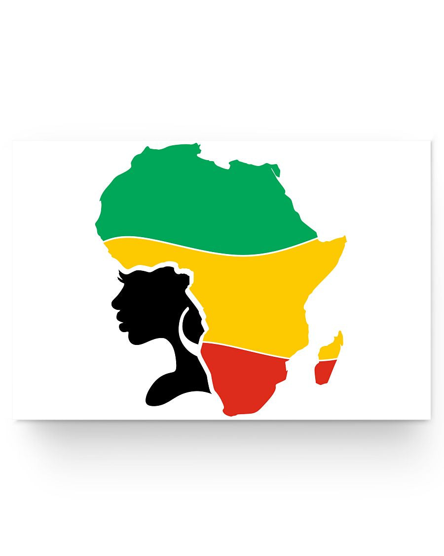24x16 Poster - Africa hair