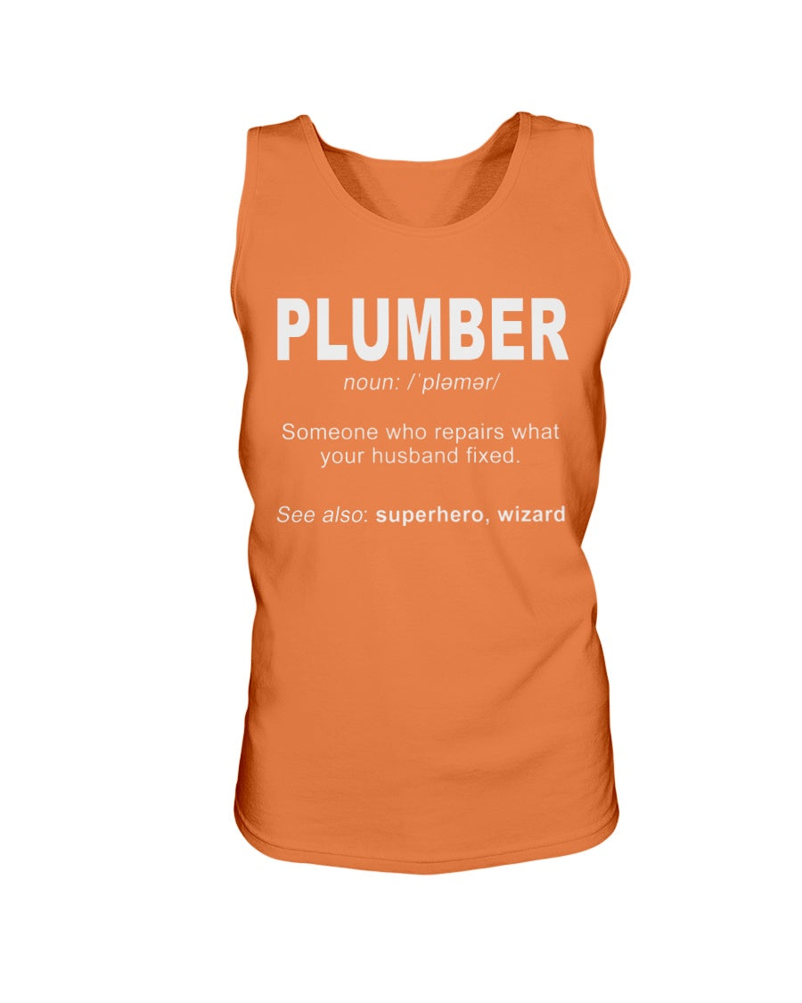 2200 - Plumber: someone who repairs what's your husband fixedIf you think it's expensive hiring a good plumber try hiring a bad one