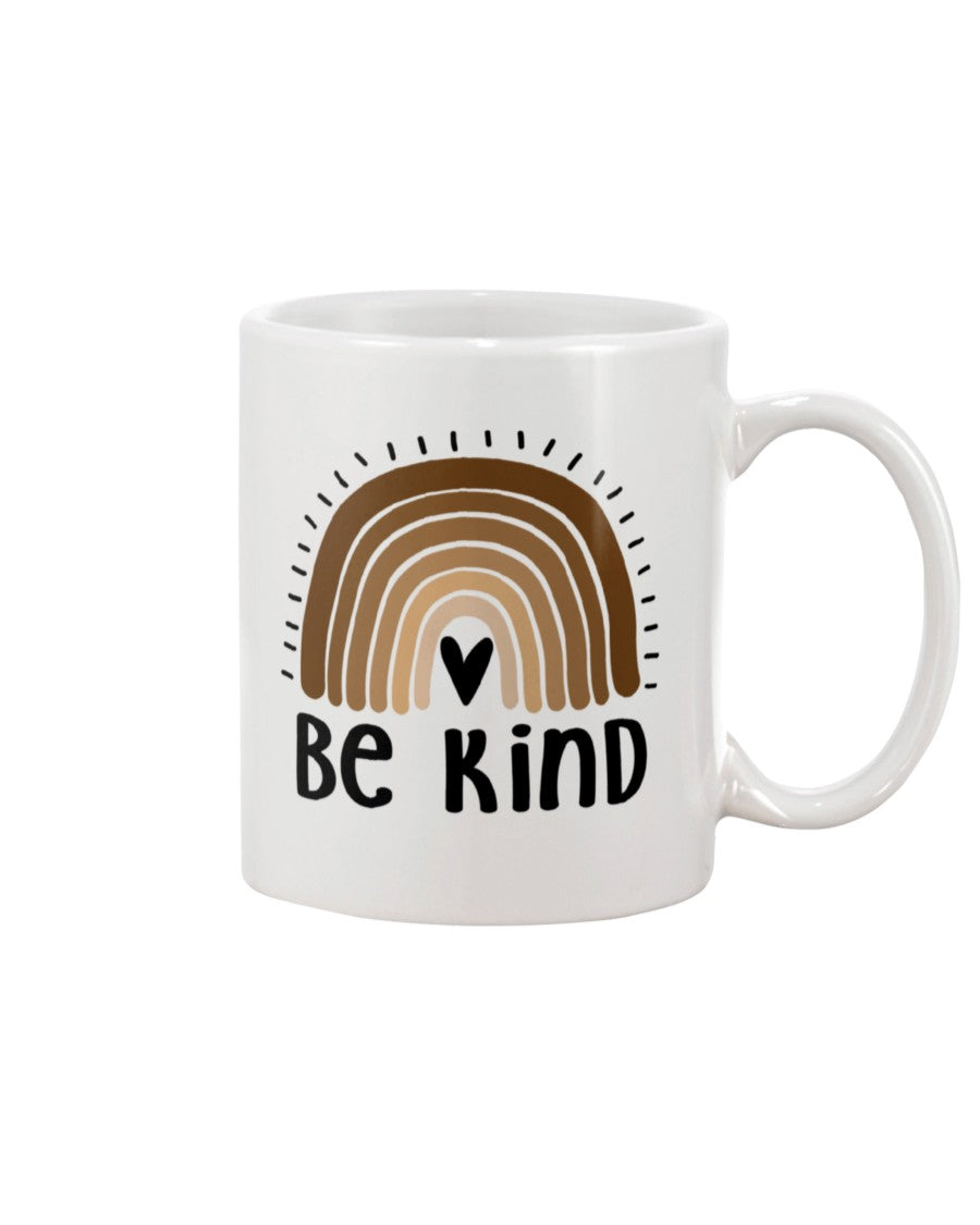 11oz Mug - Be kind rainbow