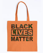 Load image into Gallery viewer, Canvas Tote - Black lives matter