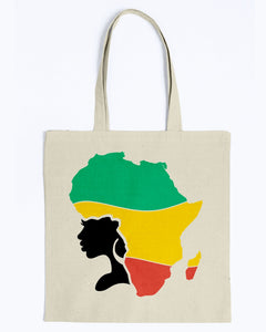 Tote - Africa hair