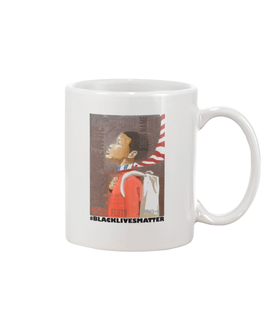 11oz Mug - BLM young man