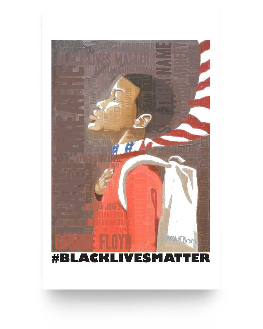 11x17 Poster - BLM young man