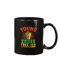 15oz Mug - Young, Black and Freei-sh
