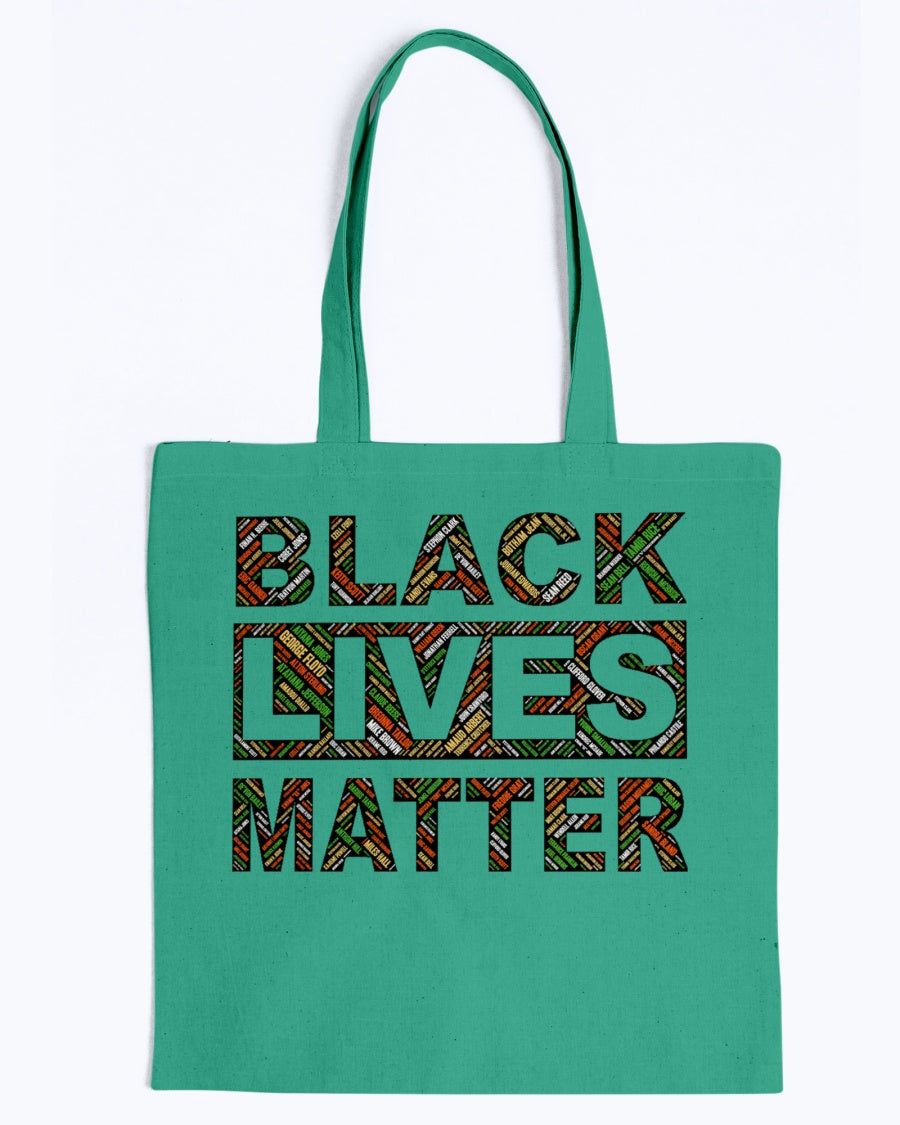 Canvas Tote - Black lives matter