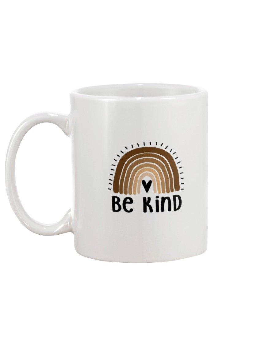 15oz Mug - Be kind rainbow