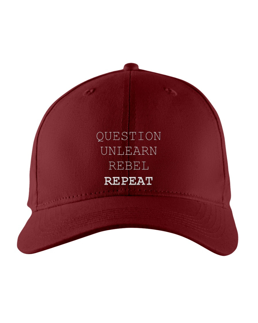 112 - Question, unlearn, rebel, repeat